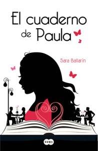 El cuaderno de Paula. Portada en formato digital.