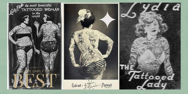 tatuaje mujeres antiguos