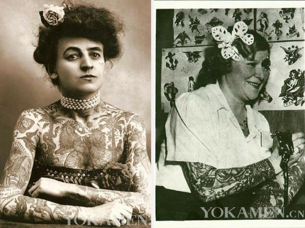 Tatuajes mujer antiguos 2