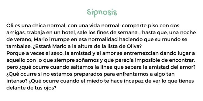 Sipnosis la lista de oliva