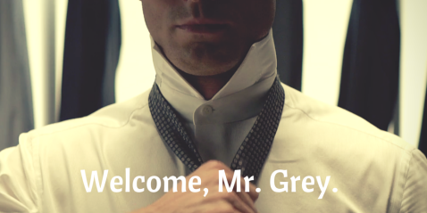 Welcome, Mr. Grey. Vuelve Grey.