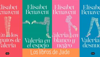 Saga Valeria De Elísabet Benavent 1 Al 4 Serie Valeria Al Completo Los Más Vendidos Edición Especial De La Serie De Televisión Valeria Los Libros De Jade