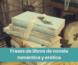 Selección de frases de libros de literatura romántica/erótica