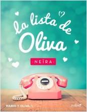 La lista de Oliva de Neíra Nueva cubierta