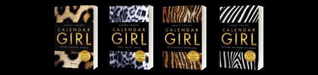 Resultado de imagen de calendar girl 4 libros