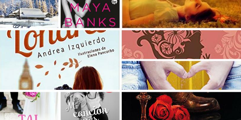 Libros de novela erótica y romántica nuevos.